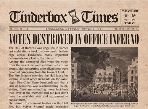 Tinderbox Times Issue 2